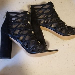 Sam Edelman Yeager caged booties